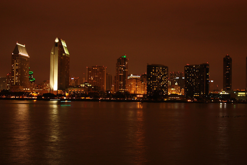 A View of SD Downtown from Coronado...<br /> <br /> This is dedicated to Deepan & Vivek for showing us a beautiful place :)