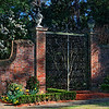 Entrance to Elizabethan Gardens - Manteo