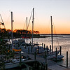 Manteo Harbor at First Light