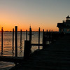 Sunrise at Roanoke Marshes Lighthouse - Manteo