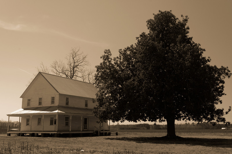 House on Hwy 308, near Columbia, NC