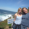 Look at these two blonde beauties....Mother Mol and Eden came for a walk...saw tons of whales...