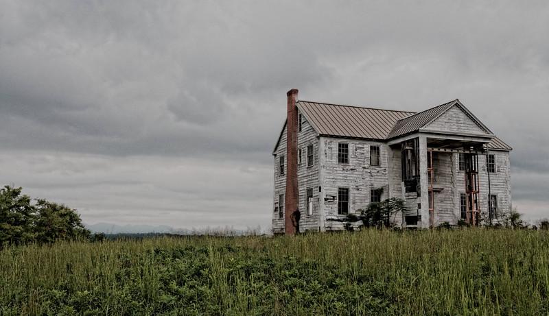 House on a Hill - near Rutherfordton