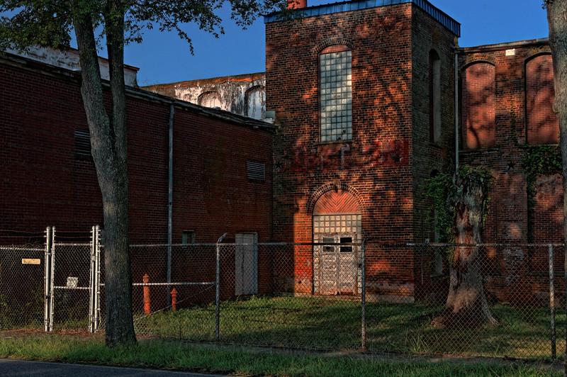 Closed Plant - Shelby Fibers, Morgan Street, Shelby