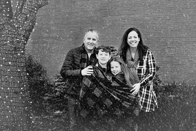 Family Snow-