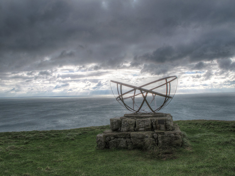 The Radar Memorial to mark the area where much early research was performed on the new invention.