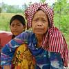 Traditional Khmer woman