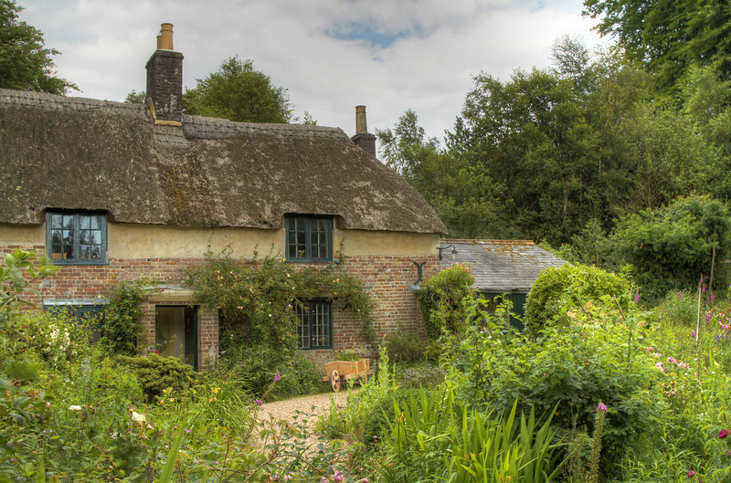 """Hady's Cottage at Higher Bockhampton, Dorset.<br /> <br /> Thomas Hardy was a famous Victorian poet and author writing many well known stories about Dorset life in those times.<br /> <br /> <a href=""""http://en.wikipedia.org/wiki/Thomas_Hardy"""">http://en.wikipedia.org/wiki/Thomas_Hardy</a>"""