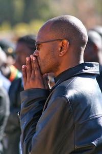 Fr.. Ntsikelelo Bambatha, one of the priests at St. Teresa.