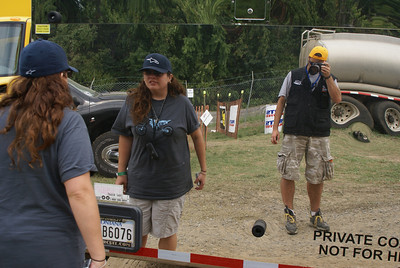 My baby helping me out at the Race of nations in maryland 07