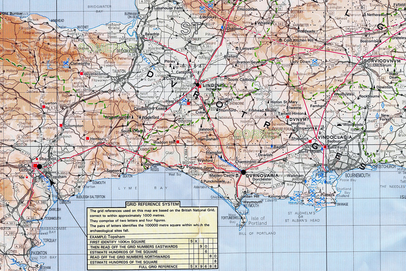A (probably totally unlawful) scan of the Ordnance Survey map of Roman Britain.
