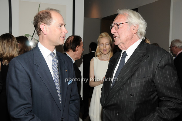 HRH The Prince Edward, Earl of Wessex, Richard Meier<br /> photo by Rob Rich © 2010 robwayne1@aol.com 516-676-3939