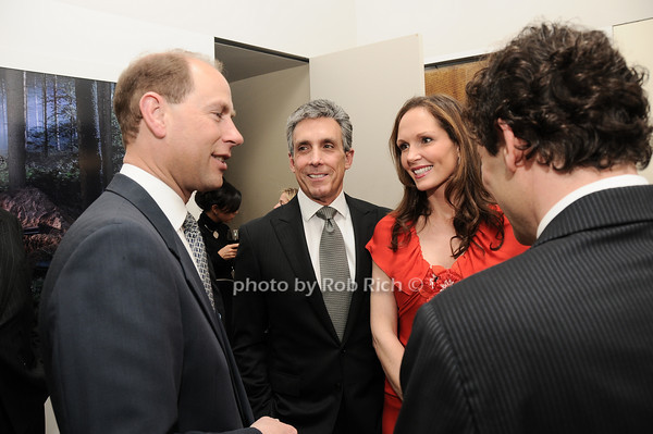 Kip Hall, HRH The Prince Edward, Earl of Wessex, Charles Cohen, Clo Cohen<br /> photo by Rob Rich © 2010 robwayne1@aol.com 516-676-3939