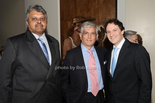Lingaraj  Urs, Ashok Rabheru, David Hryck<br /> photo by Rob Rich © 2010 robwayne1@aol.com 516-676-3939