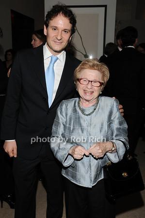 David Hryck, Dr. Ruth Westheimer<br /> photo by Rob Rich © 2010 robwayne1@aol.com 516-676-3939