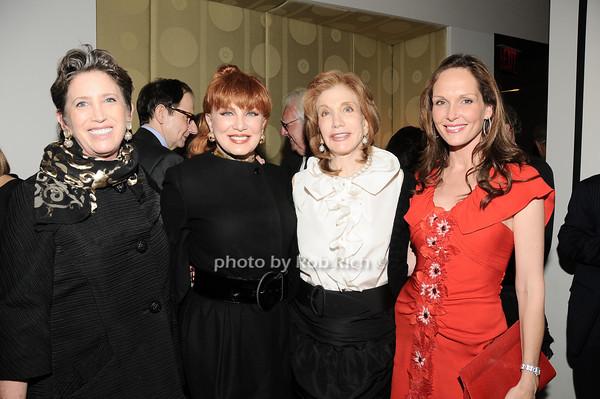 Beth Rudin deWoody, Georgette Mossbacher, Elizabeth Kabler, Clo Cohen<br /> photo by Rob Rich © 2010 robwayne1@aol.com 516-676-3939