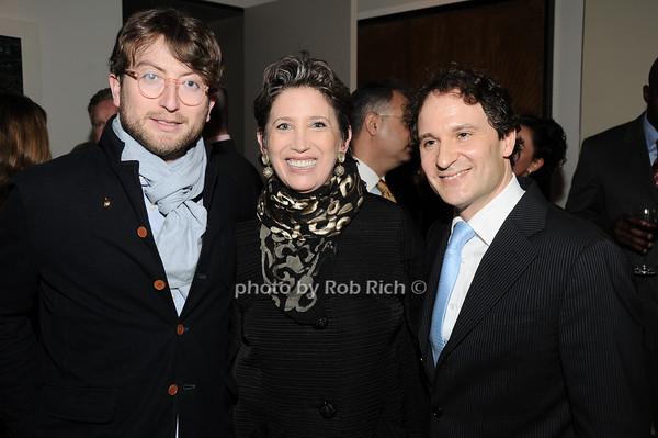 Carlton deWoody, Beth Rudin deWoody, David Hryck <br /> photo by Rob Rich © 2010 robwayne1@aol.com 516-676-3939