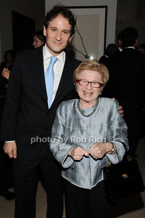 David Hryck, Dr. Ruth Westheimer<br /> photo by Rob Rich © 2010 robwayne1@aol.com 516-676-3939