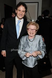 David Hryck, Dr. Ruth Westheimer photo by Rob Rich © 2010 robwayne1@aol.com 516-676-3939