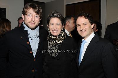 Carlton deWoody, Beth Rudin deWoody, David Hryck  photo by Rob Rich © 2010 robwayne1@aol.com 516-676-3939