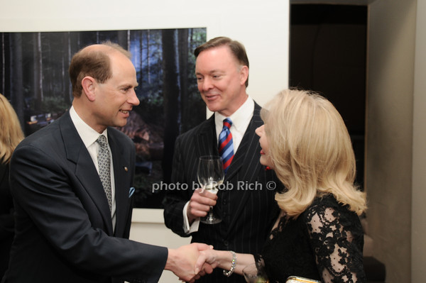HRH The Prince Edward, Earl of Wessex, Randy Jones, Connie Jones<br /> photo by Rob Rich © 2010 robwayne1@aol.com 516-676-3939