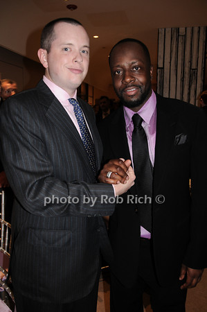 Michael Burch, Wyclef Jean<br /> photo by Rob Rich © 2010 robwayne1@aol.com 516-676-3939