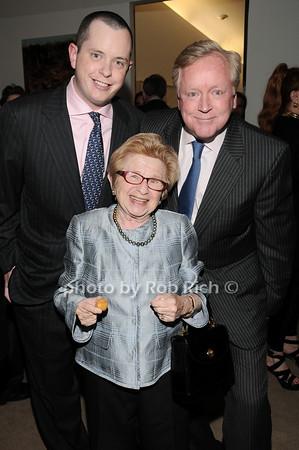 Michael Burch, Dr. Ruth Westheimer, Frank Burch<br /> photo by Rob Rich © 2010 robwayne1@aol.com 516-676-3939