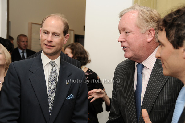 HRH The Prince Edward, Earl of Wessex, Frank Burch<br /> photo by Rob Rich © 2010 robwayne1@aol.com 516-676-3939