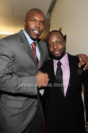 Eric Williams, Wyclef Jean<br /> photo by Rob Rich © 2010 robwayne1@aol.com 516-676-3939