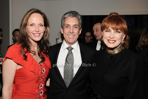 Clo Cohen, Charles Cohen, Georgette Mossbacher<br /> photo by Rob Rich © 2010 robwayne1@aol.com 516-676-3939