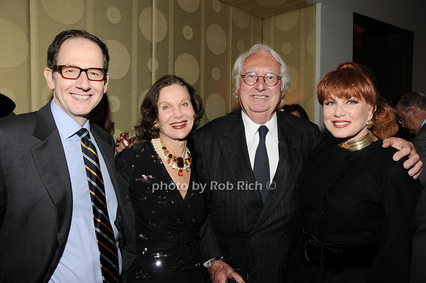 Matthew Margo, Jill Spalding, Richard Meier, Georgette Mossbacher<br /> photo by Rob Rich © 2010 robwayne1@aol.com 516-676-3939