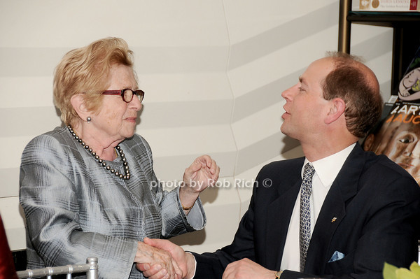 Dr.Ruth Westheimer, HRH The Prince Edward, Earl of Wessex