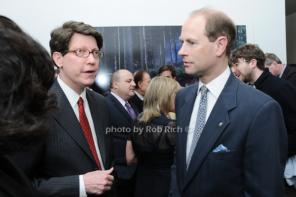 Robert Nederlander,   HRH The Prince Edward, Earl of Wessex<br /> photo by Rob Rich © 2010 robwayne1@aol.com 516-676-3939