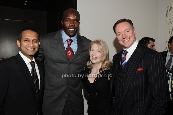 Ravi Kumar, Eric Williams, Connie Jones, Randy Jones<br /> photo by Rob Rich © 2010 robwayne1@aol.com 516-676-3939