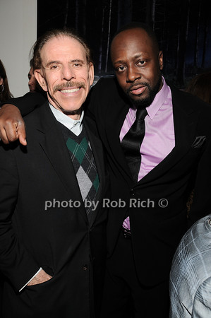 Peter Max, Wyclef Jean<br /> photo by Rob Rich © 2010 robwayne1@aol.com 516-676-3939