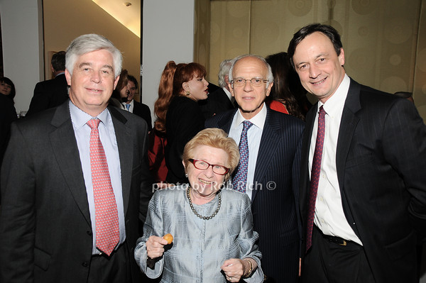 Kip Hall, Dr. Ruth Westheimer, Nicholas Kourides,Charles Scheeler<br /> photo by Rob Rich © 2010 robwayne1@aol.com 516-676-3939