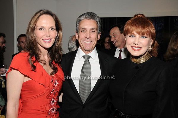 Clo Cohen, Charles Cohen, Georgette Mossbacher<br /> photo by Rob Rich © 2010 robwayne1@aol.com 516-676-3939