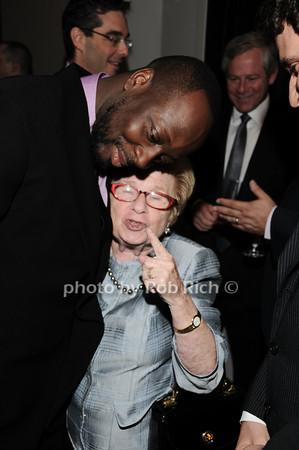 Wyclef Jean, Dr. Ruth Westheimer<br /> photo by Rob Rich © 2010 robwayne1@aol.com 516-676-3939
