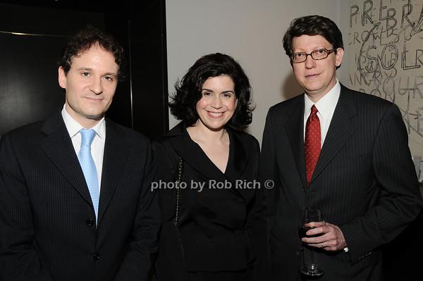 David Hryck, Suzanne Nederlander, Robert Nederlander<br /> photo by Rob Rich © 2010 robwayne1@aol.com 516-676-3939