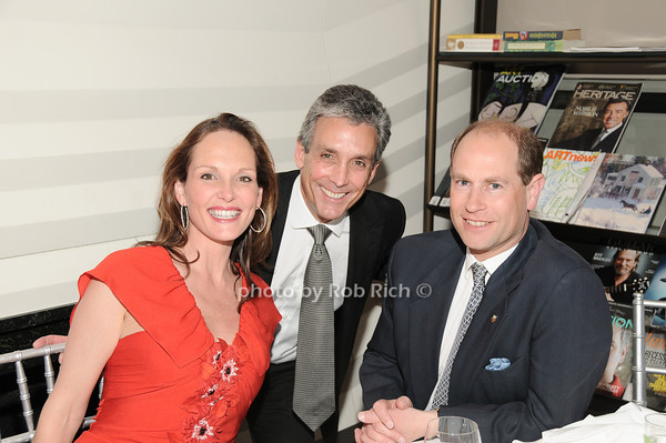 Clo Cohen, Charles Cohen, HRH The Prince Edward, Earl of Wessex<br /> photo by Rob Rich © 2010 robwayne1@aol.com 516-676-3939