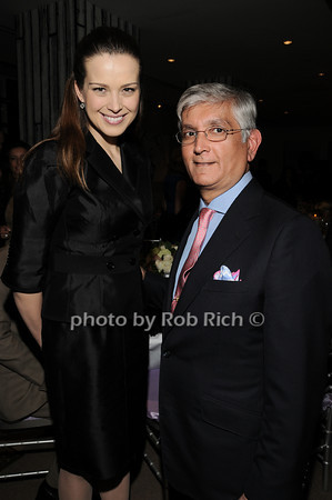 Petra Nemcova, Ashok Rabheru<br /> photo by Rob Rich © 2010 robwayne1@aol.com 516-676-3939