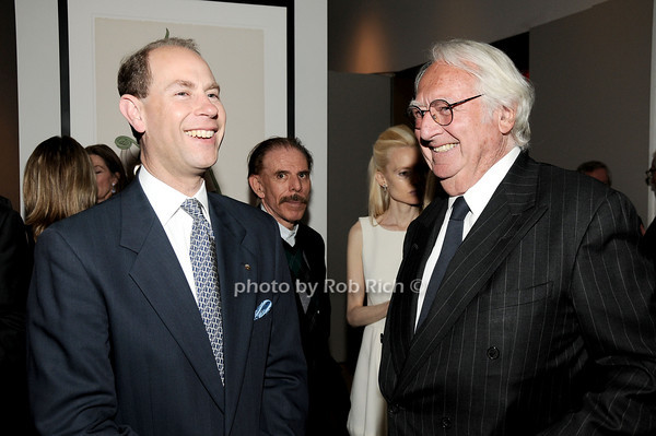 HRH The Prince Edward, Earl of Wessex, Richard Meier