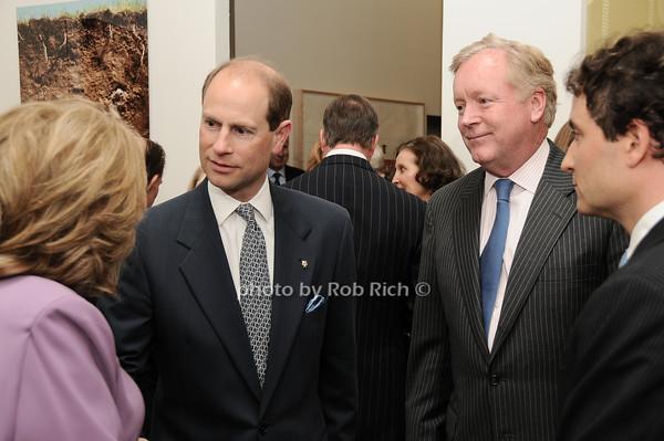 HRH The Prince Edward, Earl of Wessex, Frank Burch<br /> photo by Rob Rich © 2010 robwayne1@aol.com 516-676-3939