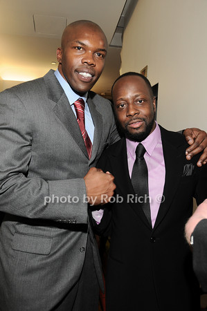 Eric Williams, Wyclef Jean<br /> photo by Rob Rich © 2010 robwayne1@aol.com 516-676-3939