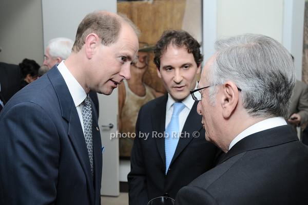 HRH The Prince Edward, Earl of Wessex, David Hryck<br /> photo by Rob Rich © 2010 robwayne1@aol.com 516-676-3939