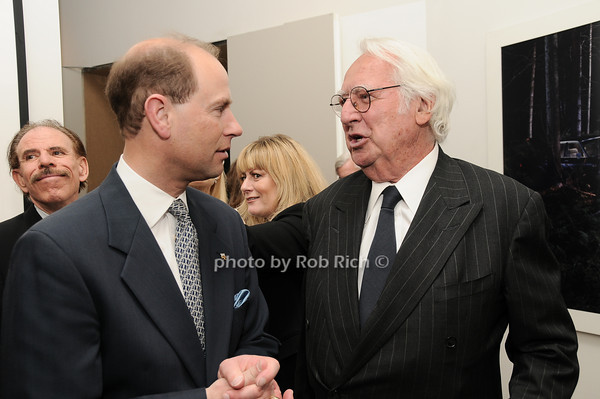 Kip Hall, HRH The Prince Edward, Earl of Wessex, Richard Meier<br /> photo by Rob Rich © 2010 robwayne1@aol.com 516-676-3939