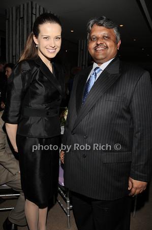 Petra Nemcova, Lingaraj  Urs<br /> photo by Rob Rich © 2010 robwayne1@aol.com 516-676-3939