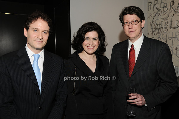 David Hryck, Suzanne Nederlander, Robert Nederlander<br /> photo by Rob Rich © 2010 robwayne1@aol.com 516-676-3939