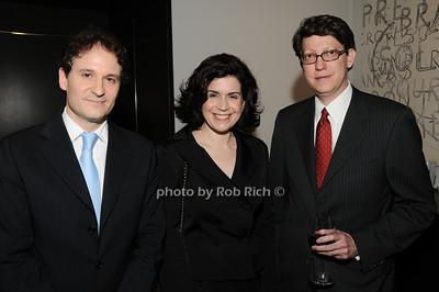 David Hryck, Suzanne Nederlander, Robert Nederlander photo by Rob Rich © 2010 robwayne1@aol.com 516-676-3939