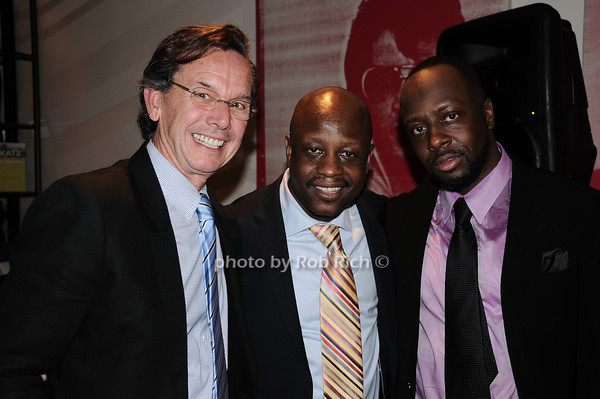 Rod Waywell, Jerry Wonda, Wyclef Jean<br /> photo by Rob Rich © 2010 robwayne1@aol.com 516-676-3939